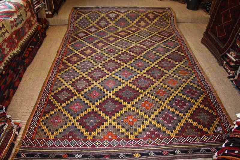 7149 Turkish Manisa Kilim Rug 167x273cm (5.5½ x 8.11½ft)