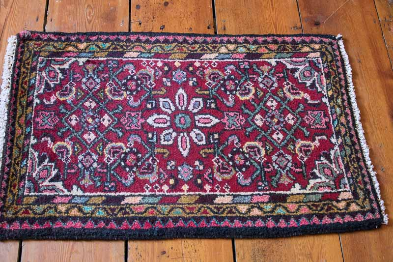 8063 Persian Hamadan Rug 56x84cm (1.10 x 2.9ft)