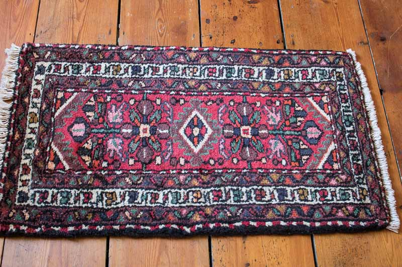 8065 Persian Hamadan Rug 53x89cm (1.9 x 2.11ft)