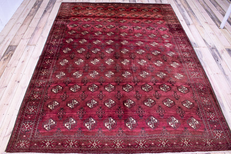 9695 Persian Kurdi Gouchan Carpet 215x296cm (7.0½ x 9.8½ft)