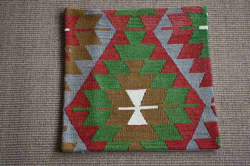 KC1023 Turkish Kilim Cushion Cover 45x45cm