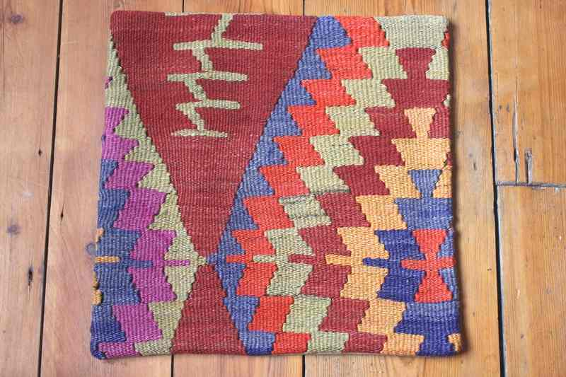 KC1236 Turkish Kilim Cushion Cover 40x40cm