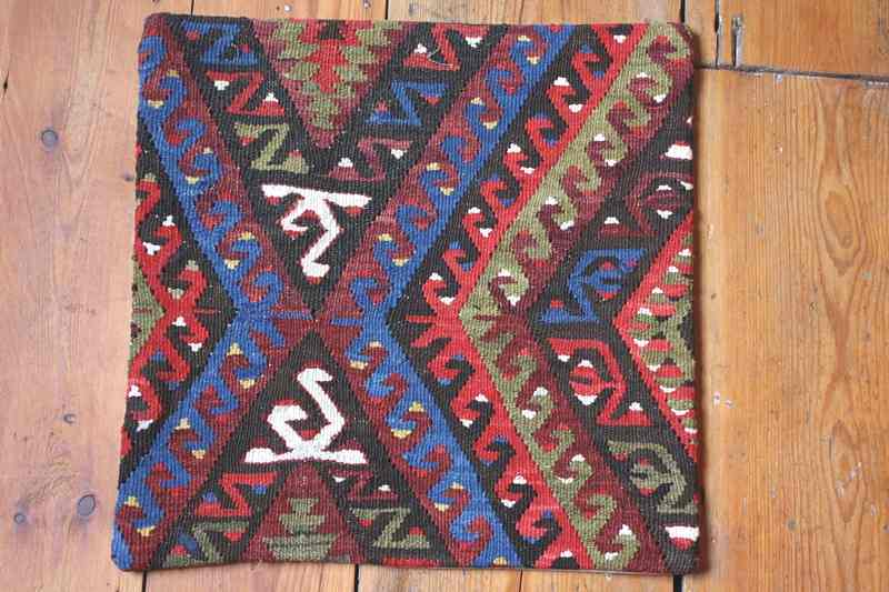 KC1246 Turkish Kilim Cushion Cover 40x40cm