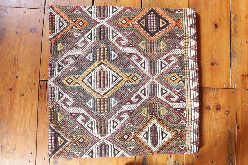 KC1340 Turkish Kilim Cushion Cover 70x70cm