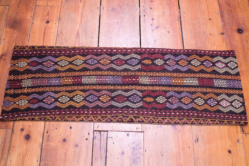 KC1351 Turkish Long Kilim Bolster Cushion Cover 40x116cm