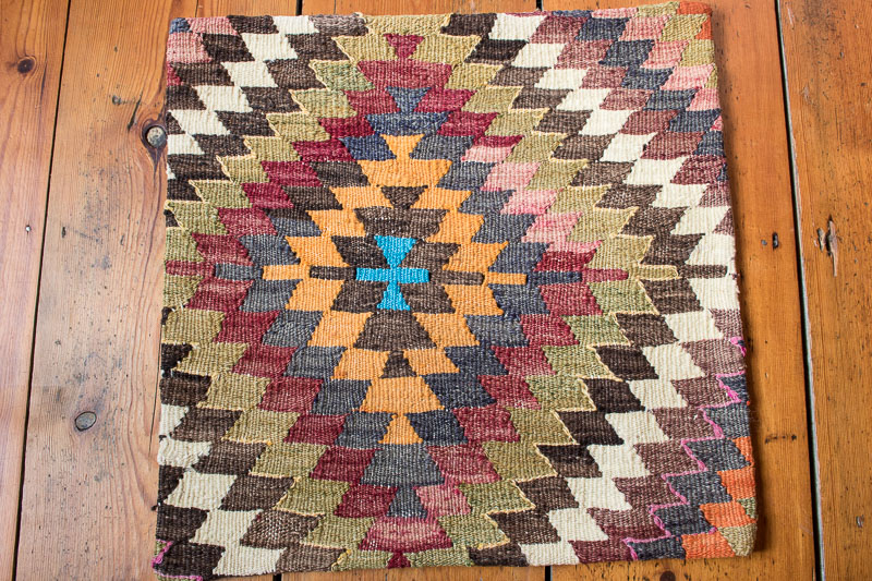 KC1446 Turkish Kilim Cushion Cover 50x50cm