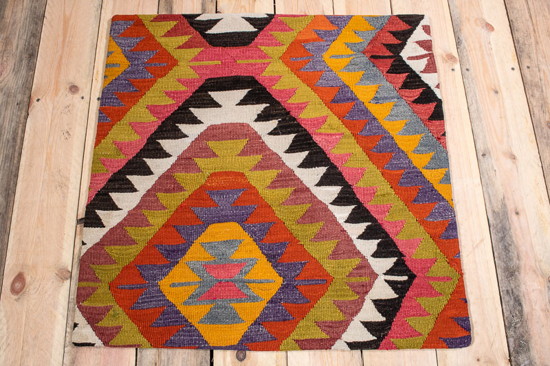 KC1559 Large Turkish Kilim Cushion Cover 70x70cm