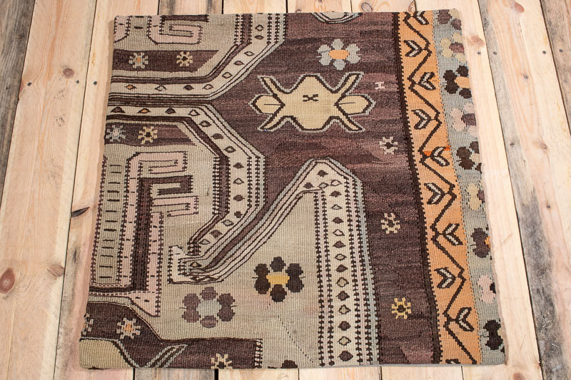 KC1560 Large Turkish Kilim Cushion Cover 70x70cm