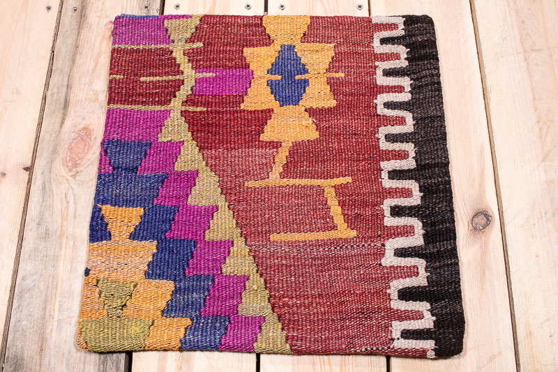 KC1651 Turkish Kilim Cushion Cover 40x40cm