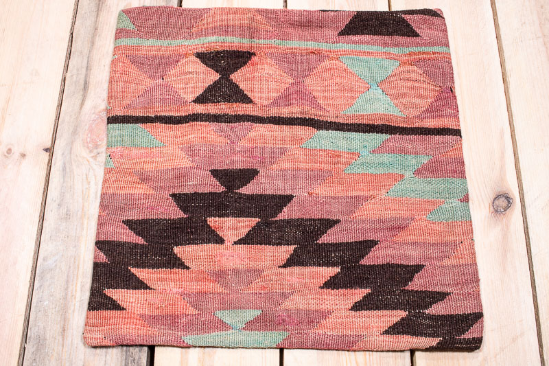 KC1658 Turkish Kilim Cushion Cover 40x40cm
