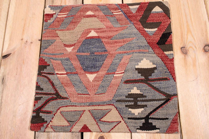 KC1704 Turkish Kilim Cushion Cover 40x40cm