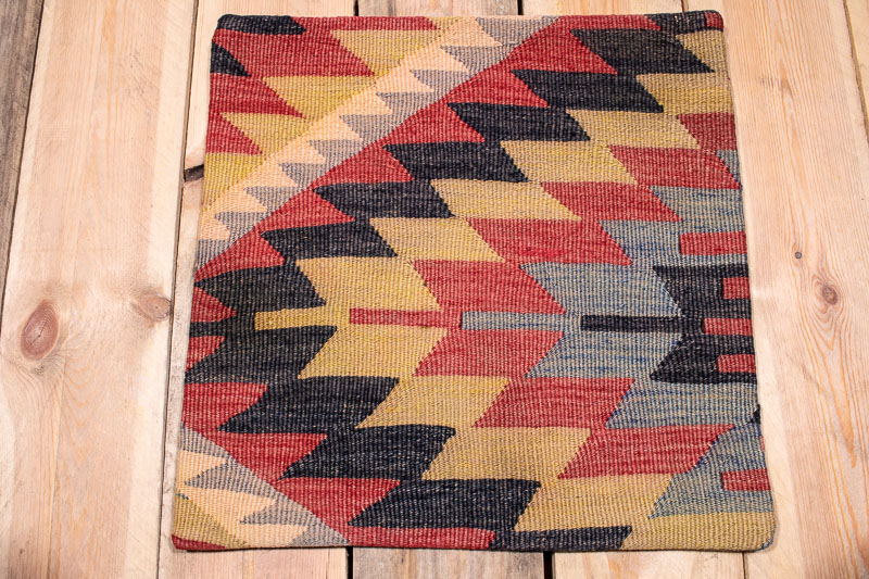 KC1780 Turkish Kilim Cushion Cover 40x40cm