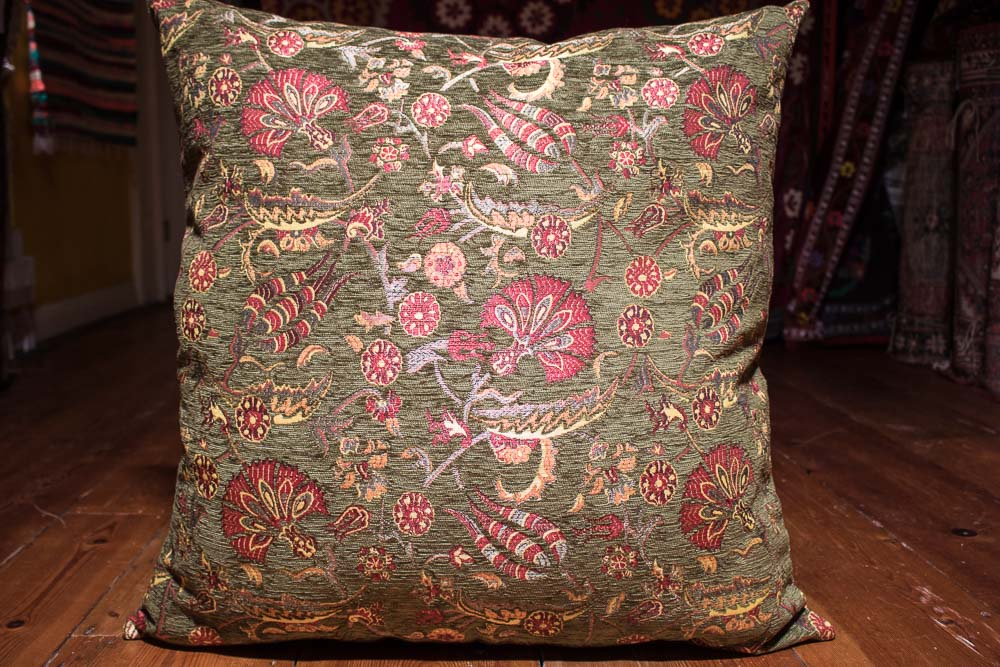 Medium Green Ottoman Turkish Cushion Cover 68x68cm