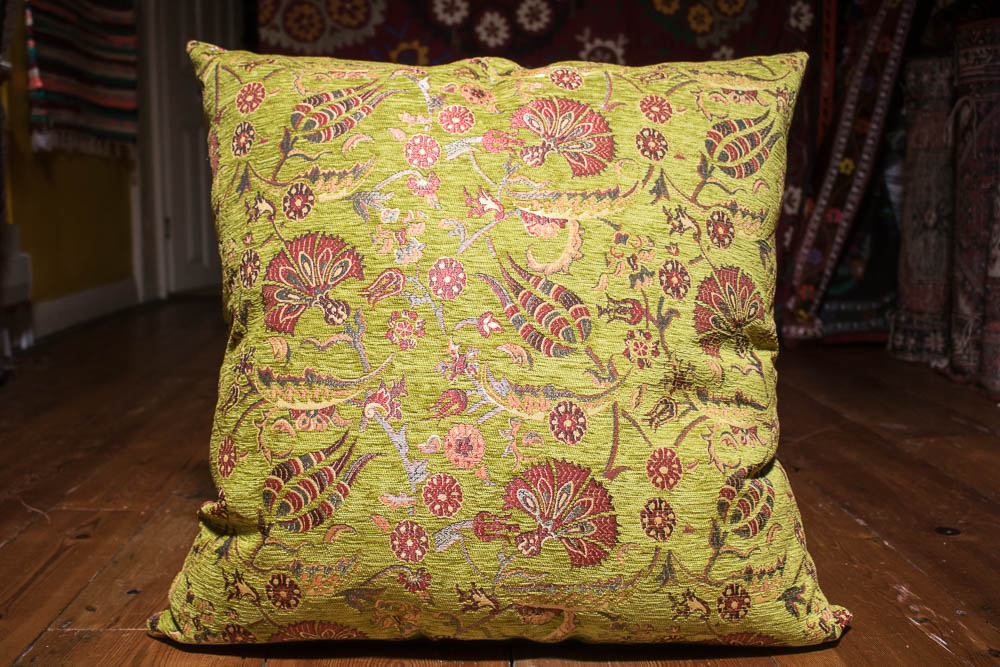 Medium Lime Ottoman Turkish Cushion Cover 68x68cm